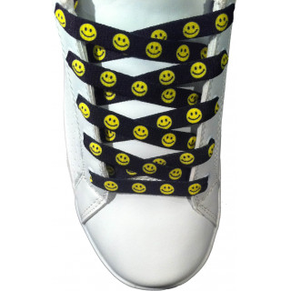 Smiley shoelaces