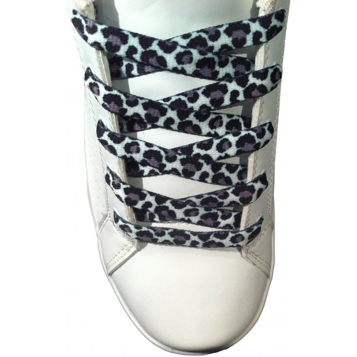 Cheetah shoelaces