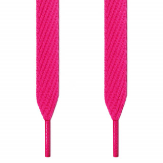 Extra wide hot pink shoelaces
