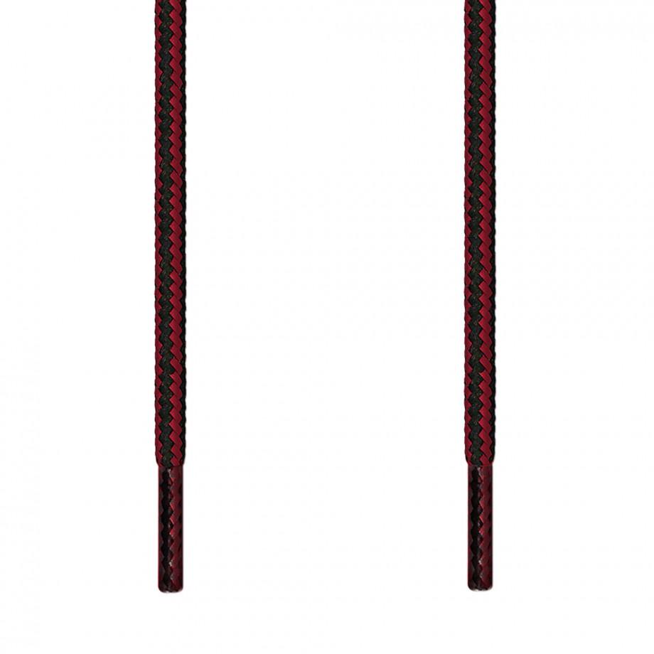 Round Black \u0026 Red Shoelaces ← Top