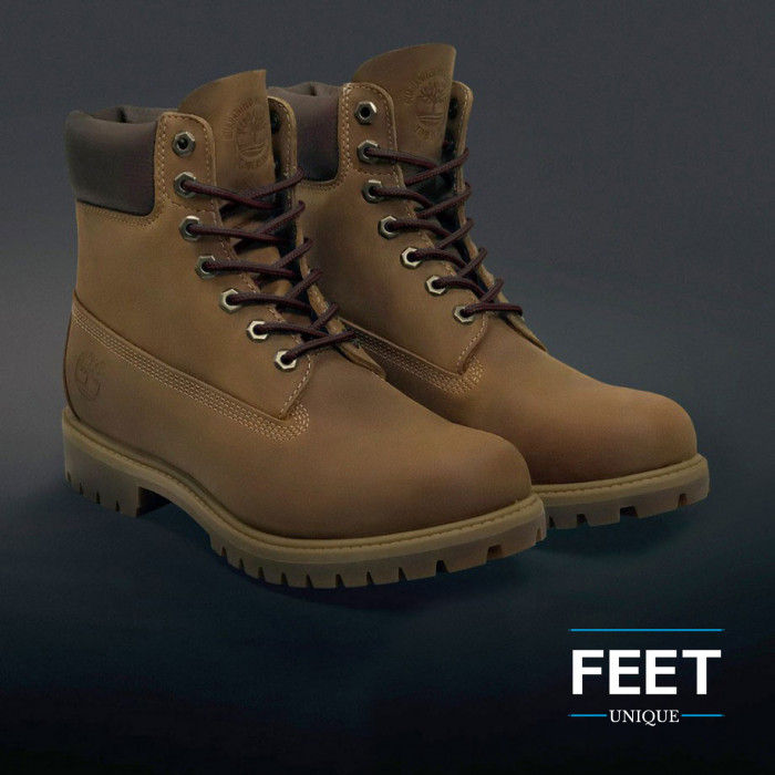 Round dark brown shoelaces