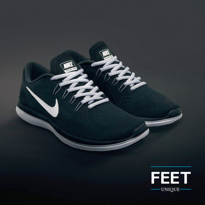 Oval light gray shoelaces