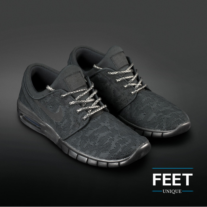 Adidas Yeezy - Rope Laces Black and Silver