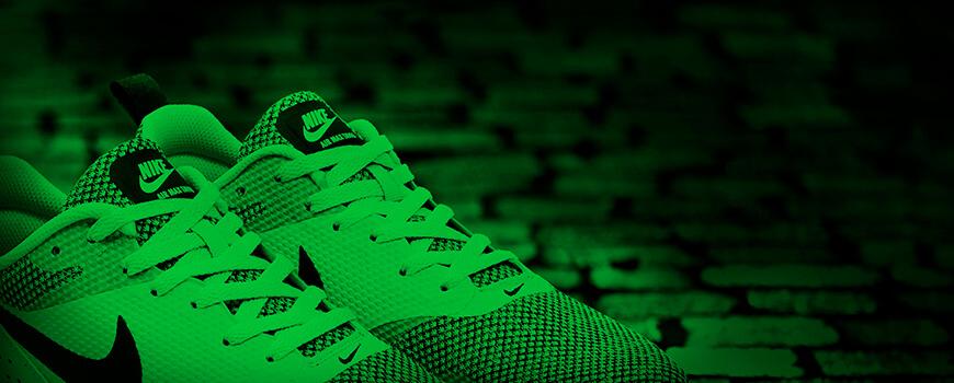 Green Neon Shoelaces