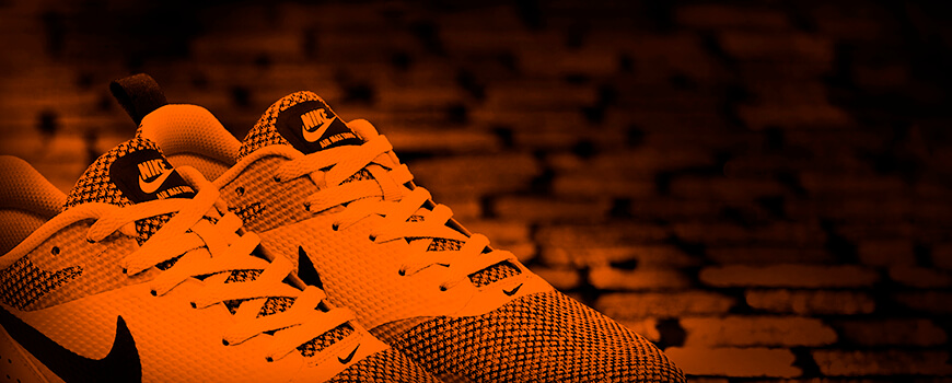 Orange / Neon Orange Shoelaces