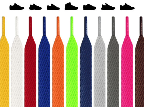 Flat Sneaker Shoelaces