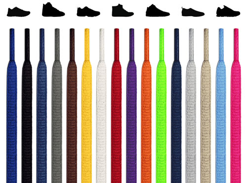 Oval Shoelaces