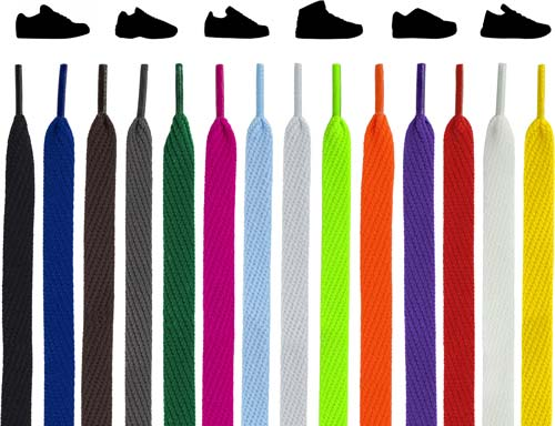 Flat Sneakers Shoelaces